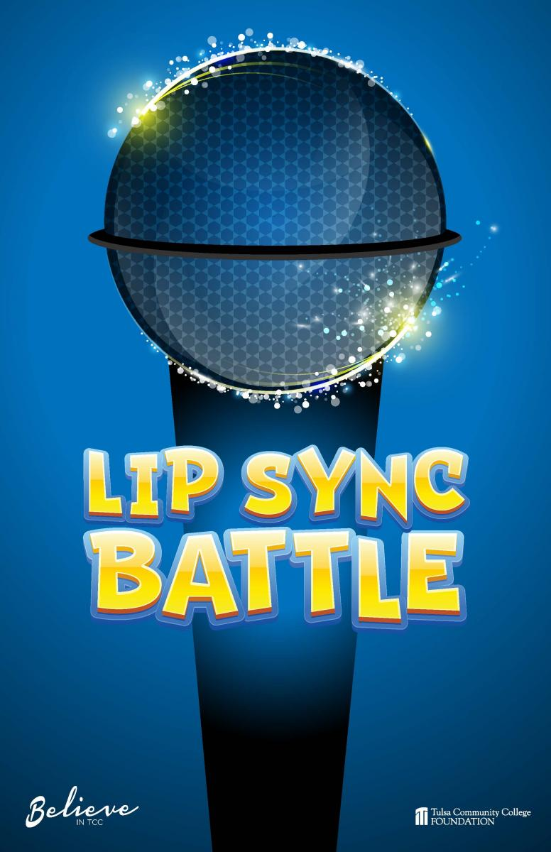 Lip Sync Battle poster featuring a microphone