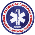 Nationally Certified Emergency Medical Technician Patch