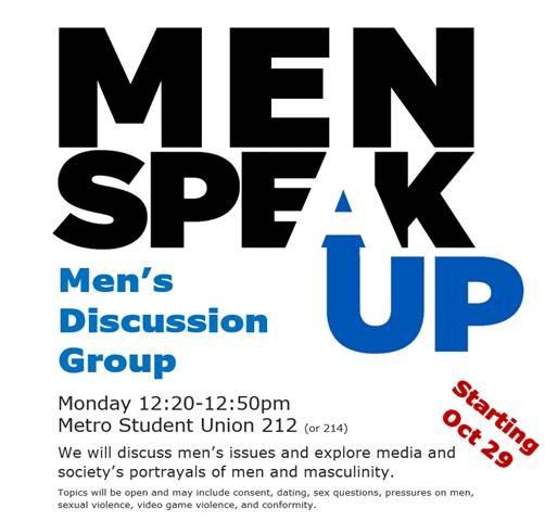 Men's Speak up