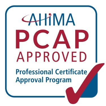 AHiMA PCAP approved Professional Certificate Approved Program