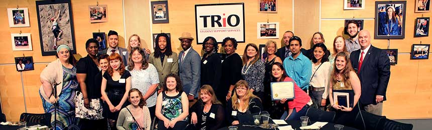 TRiO Student Support Services students Gala Group