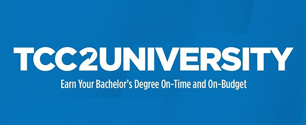 TCC 2 University – Earn Your Bachelor's Degree On-Time and On-Budget