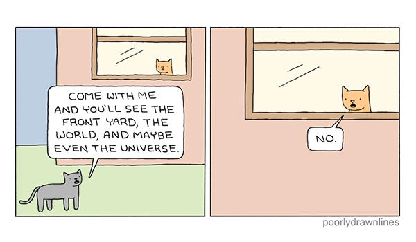 Poorly Drawn Lines Comic