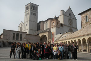 The Basilica of St. Francis in Assisi, Italy