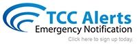 Sign up for TCC Alerts Emergency Notification