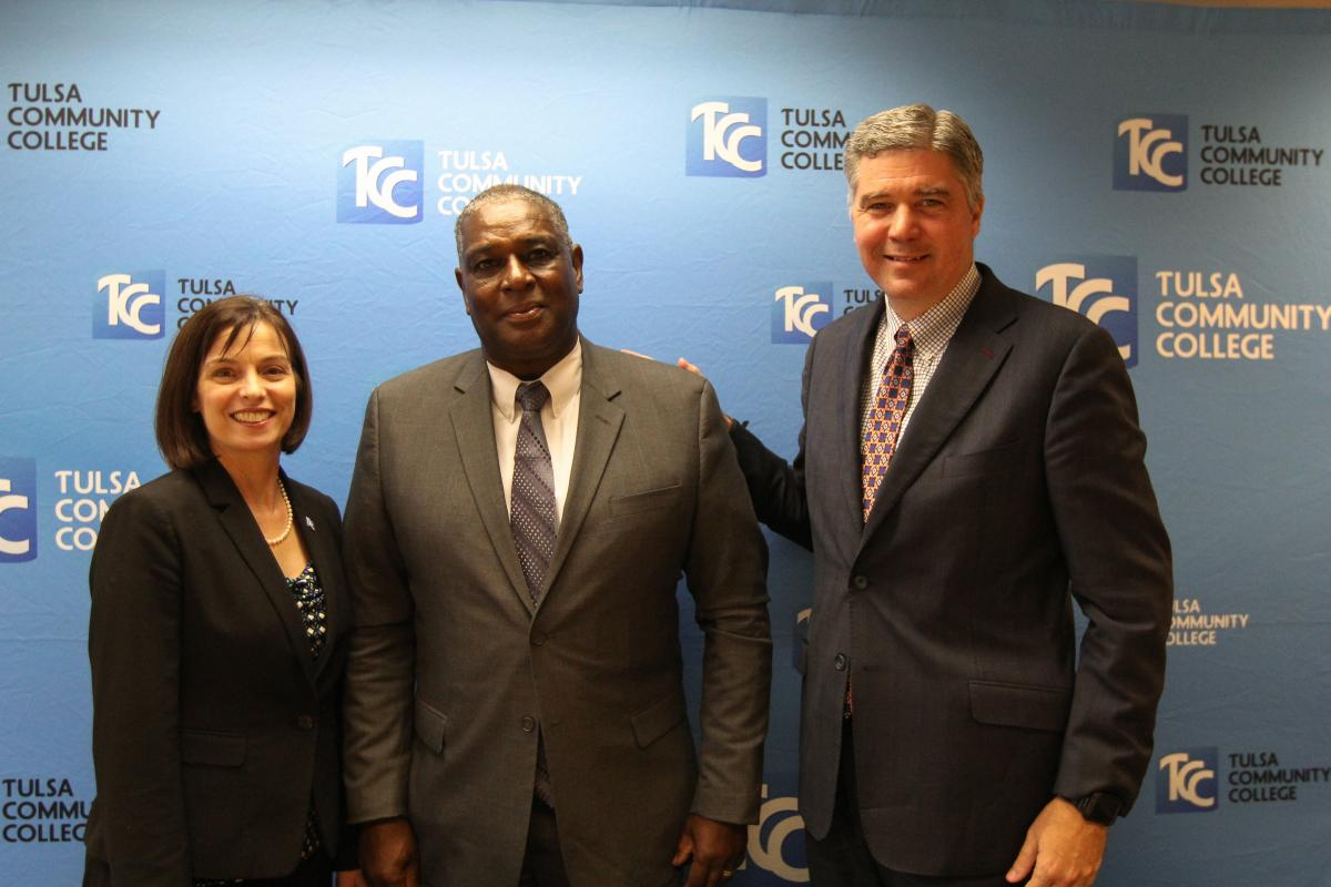 Wes Mitchell was sworn in to the TCC Board of Regents on Aug. 28.