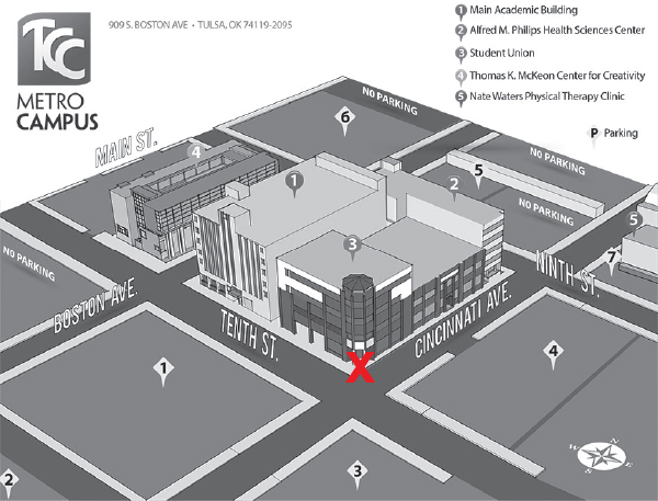 New Student Orientation   Campus Maps | Tulsa Community College
