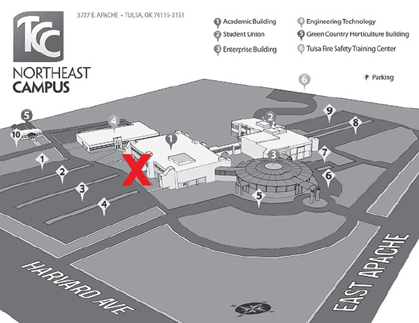 Tcc Southeast Campus Map New Student Orientation   Campus Maps | Tulsa Community College