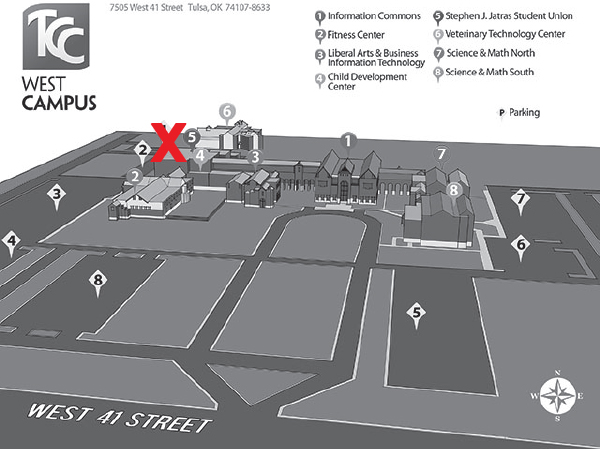 New Student Orientation Campus Maps Tulsa Community College