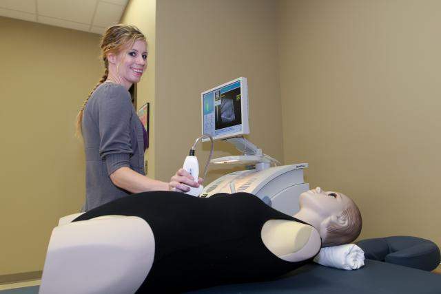Diagnostic Medical Sonography student