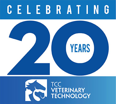 Celebrating 20 Years. TCC Veterinary Technology.