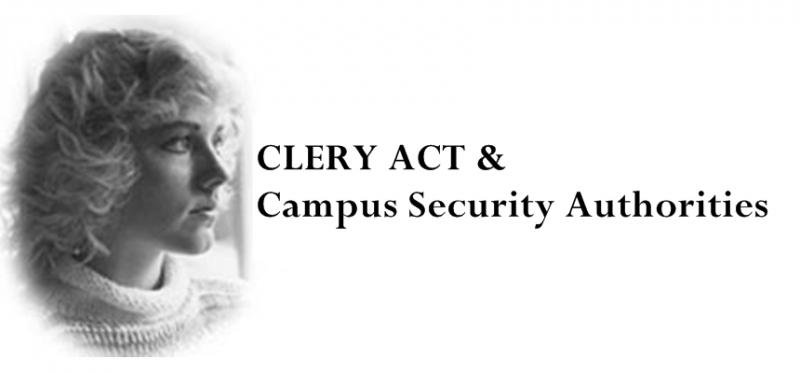 Clery Act & Campus Security Authorities