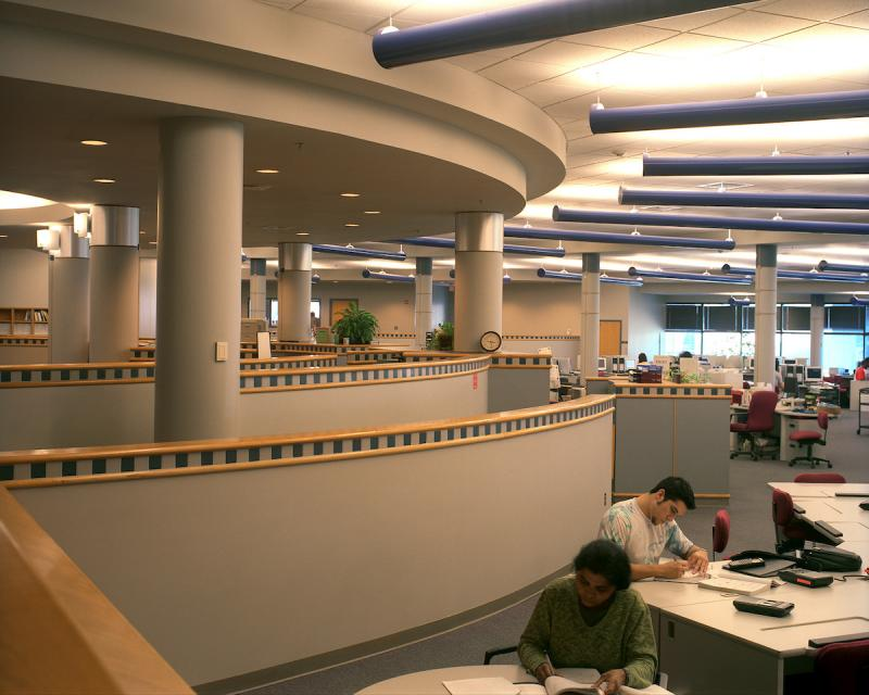 FACET Center interior with students