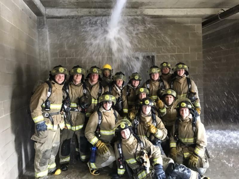 Fire Academy class