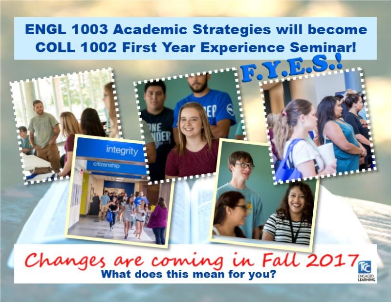 First Year Experience Seminar Postcard