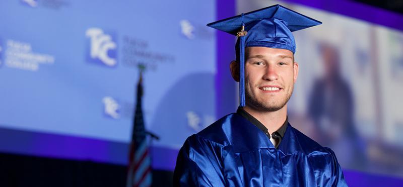 Smiling TCC Graduate