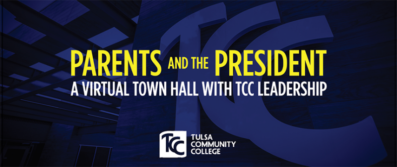 A Virtual Town Hall with TCC Leadership.