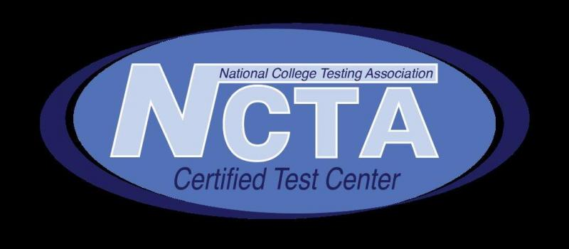 NCTA logo - National College  Testing Association Certified Test Center