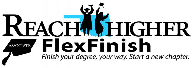 Reach Higher Flex Finish logo