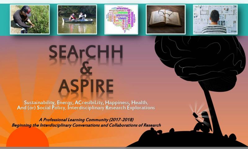 SEArCHH & ASPIRE Learning Community Flyer