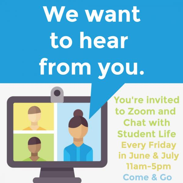 Zoom with Student Life
