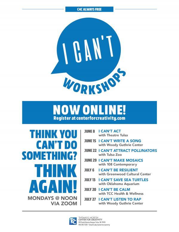 Full list of workshops