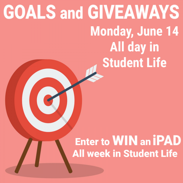 Goals and Giveaways