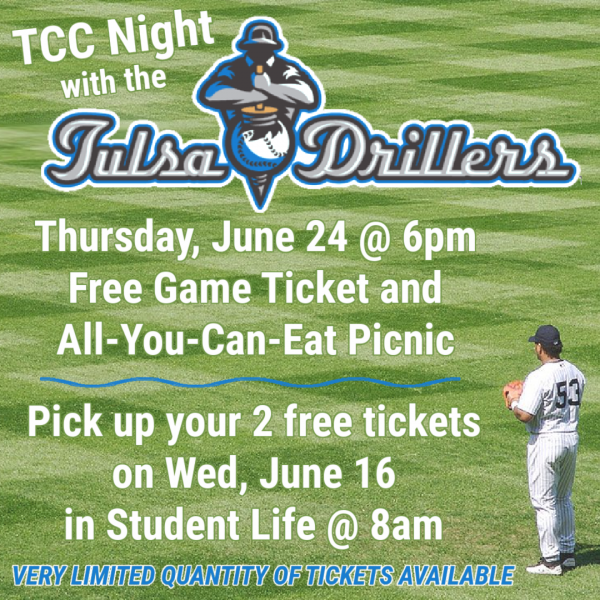 TCC Night with the Tulsa Drillers