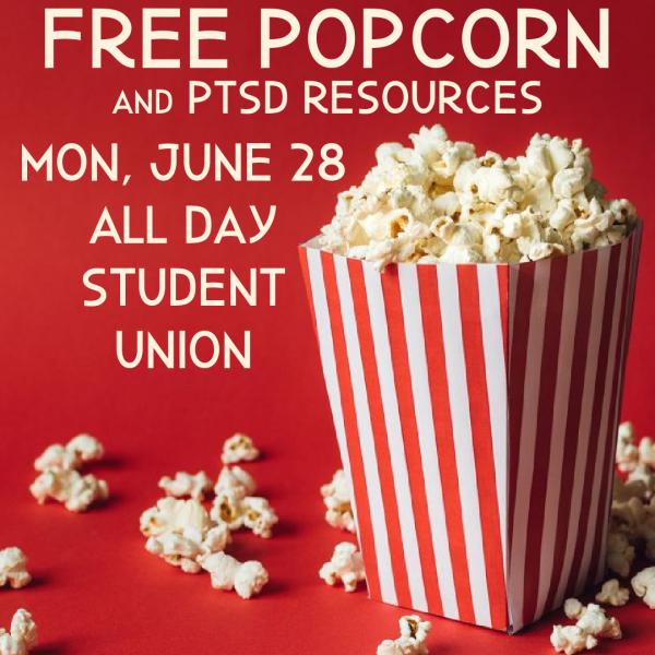 Popcorn and PTSD Resources