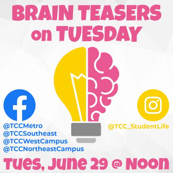 Brain Teaser on Tuesday