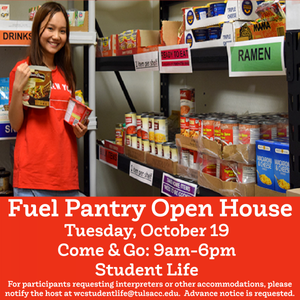 Fuel Pantry Open House