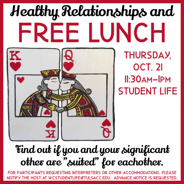Free Lunch with Healthy Relationship Tips