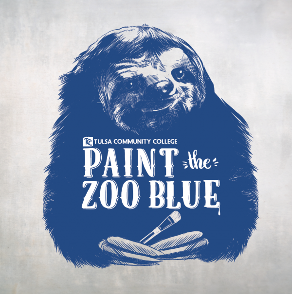 Paint the Zoo Blue