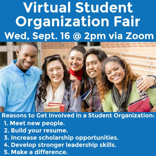 Virtual Student Organization Fair