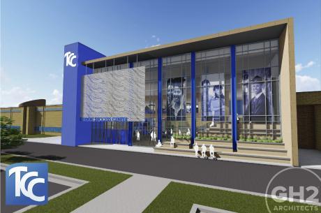 Rendering of TCC's Student Success Center