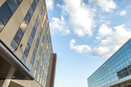 TCC Metro Campus building landscape