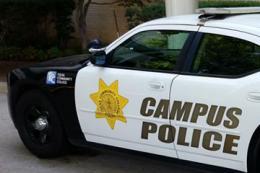 TCC Campus Police Car.
