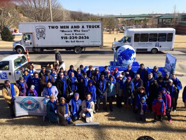 TCC particpates in 2016 MLK Jr. Parade
