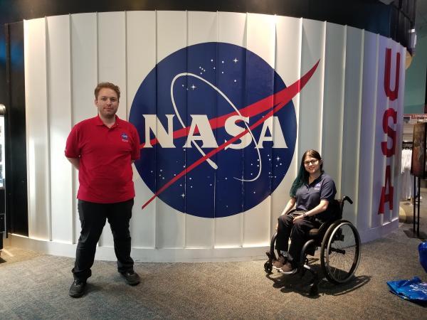 TCC students at NASA Johnson Space Center