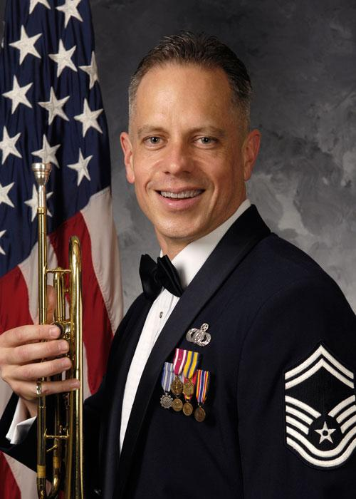 Air Force's Airmen of Note Senior Master Sgt. Kevin Burnes