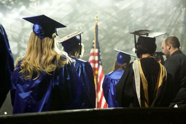 TCC students at fall 2019 graduation