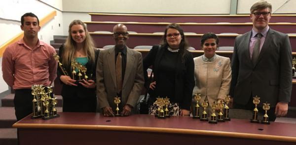 TCC Forensics team wins national awards