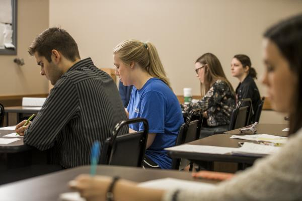 photo of TCC students in class