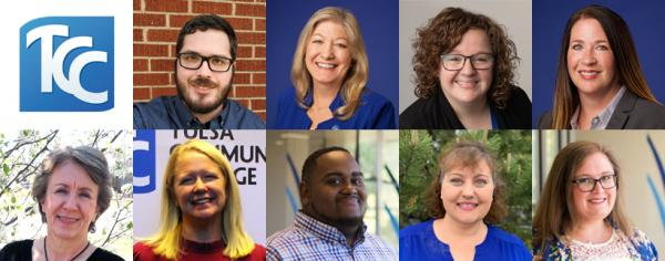 headshots of nine Smart Start team members