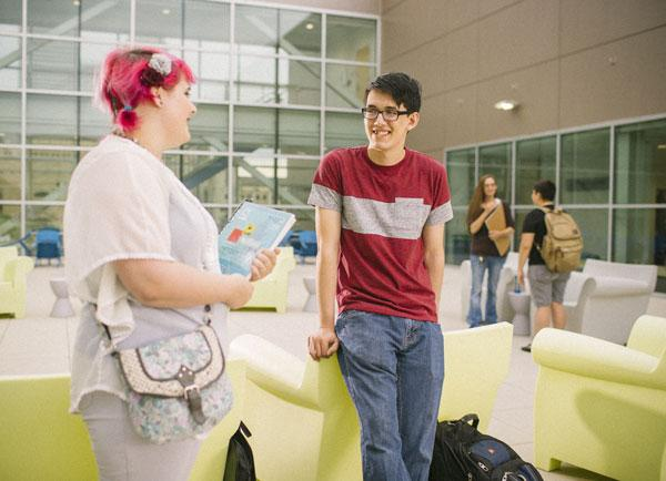 TCC students at Metro Campus