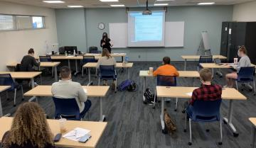 TCC students in classroom