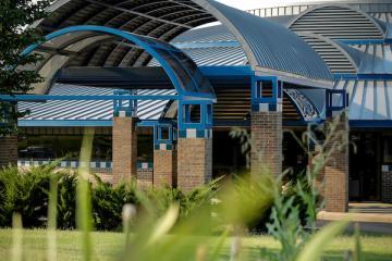 TCC Northeast Campus entrance to building
