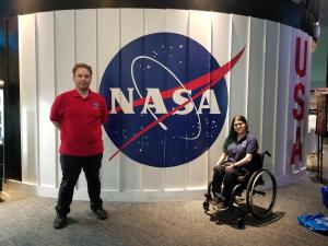 TCC students at NASA Johnson Space Center