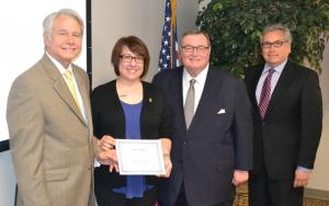 Andrea Haddox Named Newman Civic Fellow