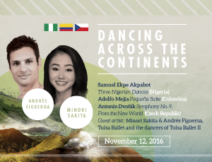 Dancing Across the Continents graphic